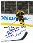 Dr. Parker, Your treatments keep me balanced on the ice. Thank you! Craig Takata