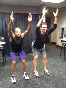 Derek Fisher and Luke Walton
